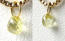 Load image into Gallery viewer, 0.39cts Natural Canary Diamond 18K Gold Pendant 8798E - PremiumBead