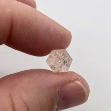 Load image into Gallery viewer, 16.1cts Morganite Pink Beryl Hexagon Cylinder Bead | 16x9mm | 1 Bead | 3863G - PremiumBead