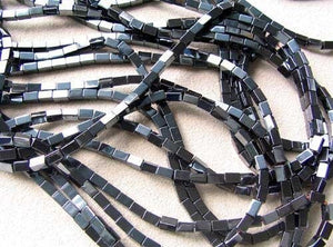 Metallic Hematite 5x3mm Rectangle 16 inch Bead Strand 107569 - PremiumBead Alternate Image 11