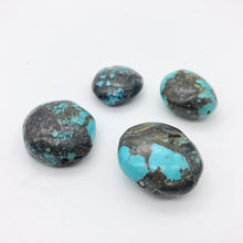 Load image into Gallery viewer, 4 Genuine Natural Turquoise Nugget Beads | 245.4 cts | Blue/Black | 4 Beads - PremiumBead