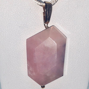 Pink Peruvian Opal Pendant with 12Kgf Findings 509862G4 - PremiumBead Primary Image 1