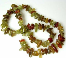 Load image into Gallery viewer, rare-green-cinnamon-grossular-garnet-nugget-bead-strand-110469a-2861