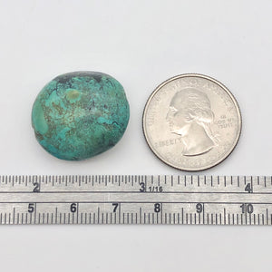 Genuine Natural Turquoise Nugget Focus or Master Bead | 38cts | 23x21x11mm - PremiumBead
