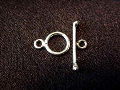2 Sterling Silver Turkish Toggle Clasps 1759 - PremiumBead