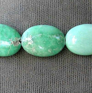 1 Very Rare Natural Variscite 14x10mm Oval Pendant Bead 006676 - PremiumBead