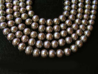 Breathtaking 8 to 9mm Harvest Moon Pearl Strand 102376 - PremiumBead