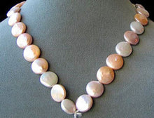 Load image into Gallery viewer, Amazing Natural Multi-Hue FW Coin Pearl Strand 104757A - PremiumBead Alternate Image 2