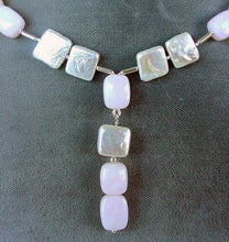 Load image into Gallery viewer, Spectacular Peruvian Pink Opal Sterling & Pearl Set 200039 - PremiumBead