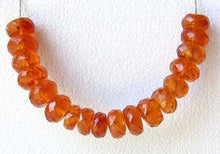 Load image into Gallery viewer, Amazing AAA Spessarite Garnet Faceted Roundel Bead 7468 - PremiumBead Alternate Image 2