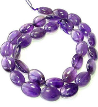 Load image into Gallery viewer, 3 Yummy Natural Amethyst 14x10mm Oval Beads 009161 - PremiumBead