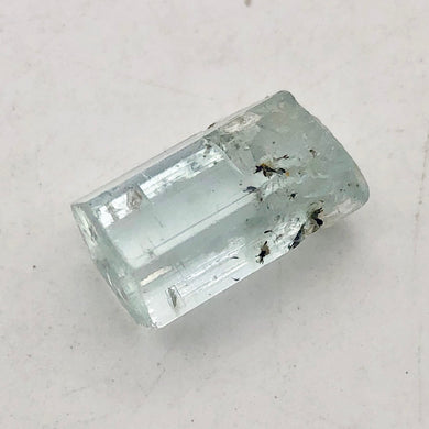 One Rare Natural Aquamarine Crystal | 17x9x9mm | 14.755cts | Sky blue | - PremiumBead
