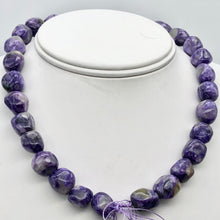 Load image into Gallery viewer, Rare Purple Charoite Nugget Bead Strand - 84 grams 110258K - PremiumBead