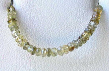 Load image into Gallery viewer, 5 Green Tea Zircon Faceted Roundel Beads 7454C - PremiumBead