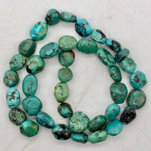 "Load image into Gallery viewer, 160cts 16"" Natural USA Turquoise Pebble Beads Strand 106696H - PremiumBead Alternate Image 8"