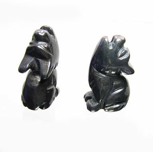 howling-new-moon-2-carved-hematite-wolf-coyote-beads-21x11x8mm-silver-black-15967