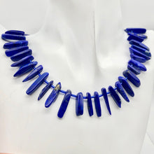 Load image into Gallery viewer, Stunning! Natural Lapis Pendant Bead Strand