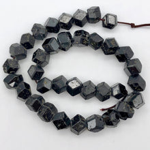 "Load image into Gallery viewer, Natural Garnet 12-sided Crystal Bead 14.5"" Strand 