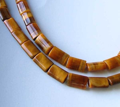 Wildly Exotic Tigereye 12x8x3.5mm Bead (16 Beads) 8 inch Strand 009537HS - PremiumBead