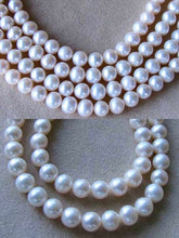 Load image into Gallery viewer, Natural Creamy Satin 8 to 9mm Pearl Strand 102639 - PremiumBead