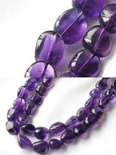 Load image into Gallery viewer, Grape Candy Amethyst Nugget Focal Bead Strand 109383 - PremiumBead Primary Image 1