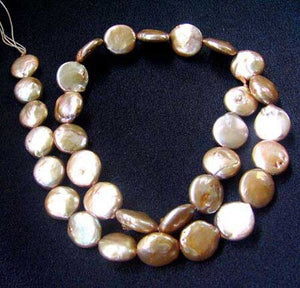 Golden Tundra 4 Coin Pearls Perfect Design 8316 - PremiumBead