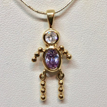 Load image into Gallery viewer, june-crystal-kid-boy-22k-vermeil-pendant-9926fb-11551