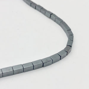 Metallic Hematite 5x3mm Rectangle 16 inch Bead Strand 107569 - PremiumBead Alternate Image 6