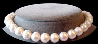 Heavenly 9.5 to 10mm Cream White FW Pearl Strand 103593 - PremiumBead