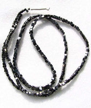 Load image into Gallery viewer, 22cts Natural Black Diamond Cube Bead Strand 108954A - PremiumBead Alternate Image 3