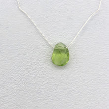 Load image into Gallery viewer, Peridot Faceted Briolette Bead | 2 cts | 8x6x5mm | Green | 1 bead | - PremiumBead