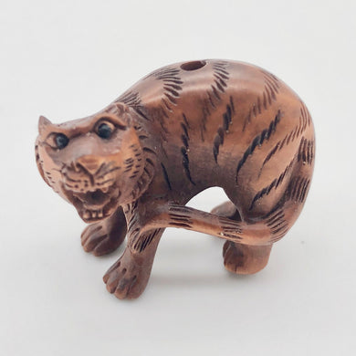 roar-1-fierce-carved-boxwood-tiger-ojime-netsuke-bead-21x25x16mm-brown-12332