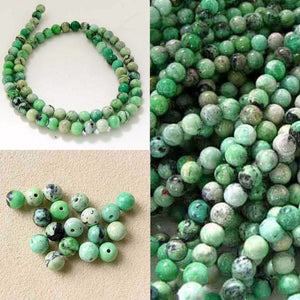 Mojito Minty Green Turquoise 5.5mm Round Bead Strand 107415 - PremiumBead Alternate Image 4