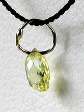 Load image into Gallery viewer, 0.33cts Natural Canary Diamond White Gold Pendant 6568L - PremiumBead