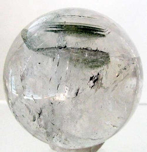 Wow Rare Natural Clorinated Quartz Crystal 2 inch Sphere 7698 - PremiumBead Alternate Image 2
