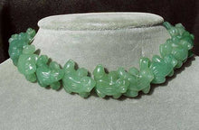 Load image into Gallery viewer, Prosperity 2 Hand Carved Aventurine Frog Beads | 20x18x9.5mm | Green - PremiumBead