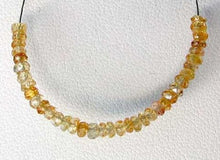 Load image into Gallery viewer, Golden Yellow Zircon Faceted Roundel Beads 7455 - PremiumBead