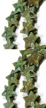 Load image into Gallery viewer, Gleam 5 Rhyolite Jasper Carved Star Beads 009466 - PremiumBead