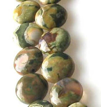 Load image into Gallery viewer, Raintree Rhyolite Jasper 11mm Coin Bead 8 inchStrand 9538HS - PremiumBead Primary Image 1