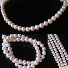 Load image into Gallery viewer, Premium Natural Perfect Skin White 8mm Pearl Strand 110059 - PremiumBead