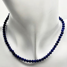 Load image into Gallery viewer, stunning-natural-aaa-lapis-4mm-round-bead-half-strand-251