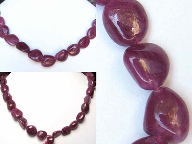 227cts-rich-natural-non-heated-ruby-art-cut-bead-strand-109671a-6218