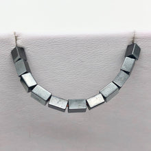 Load image into Gallery viewer, Metallic Hematite 5x3mm Rectangle 16 inch Bead Strand 107569 - PremiumBead Alternate Image 8