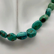 "Load image into Gallery viewer, 160cts 16"" Natural USA Turquoise Pebble Beads Strand 106696H - PremiumBead"