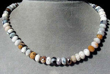 Load image into Gallery viewer, Wild Crazy Lace Agate Faceted Roundel Bead Strand 105611 - PremiumBead Primary Image 1
