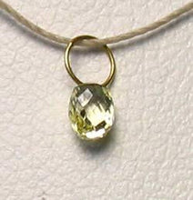 Load image into Gallery viewer, 0.26cts Natural Canary Diamond & 18K Gold Pendant 8798N - PremiumBead Alternate Image 3