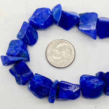 Load image into Gallery viewer, Intense! Natural Gem Quality Lapis Lazuli Bead Strand!| 42 beads | 11x10x6mm |