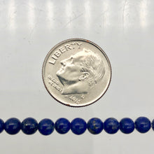 Load image into Gallery viewer, stunning-natural-aaa-lapis-4mm-round-bead-half-strand-252