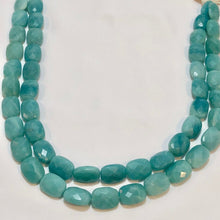 Load image into Gallery viewer, Gem Quality Faceted Amazonite Roundel Bead Strand - PremiumBead