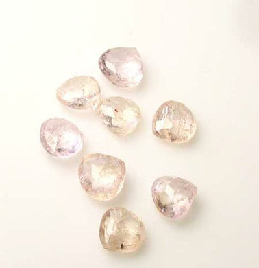 1 Premium 6x6x4 to 5.5x5.5x3.5mm Topaz Faceted Briolette Bead 4077I - PremiumBead