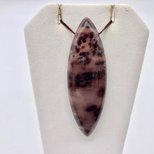 Load image into Gallery viewer, 1 Glorious Red Apache Jasper Marquis Art Pendant Bead 008281 - PremiumBead